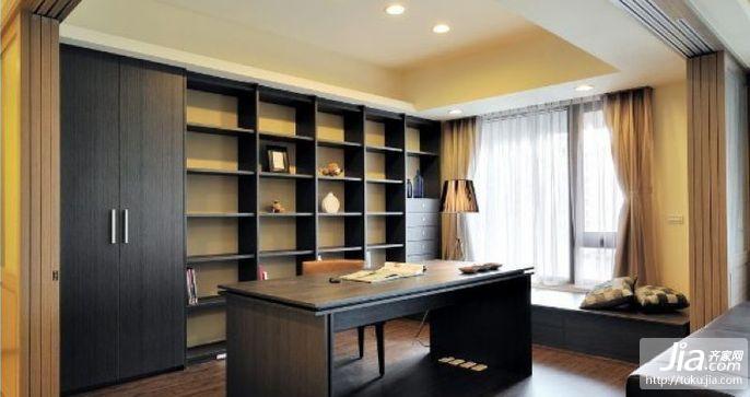 书房家居最安静的地方装修图片
