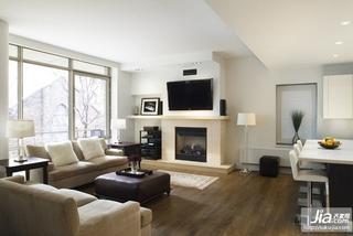 欧式风格客厅电视背景墙装修效果图装修效果图