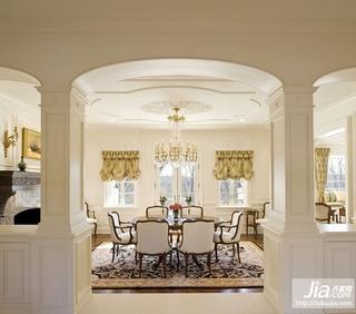欧式奢华客厅装修装修效果图