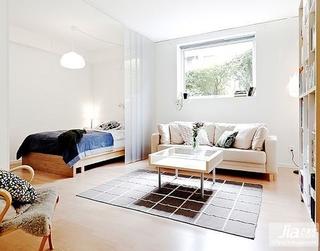 80平单身公寓客厅装修效果图大全2012图片装修图片