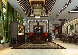 红木家具展厅设计方案装修效果图