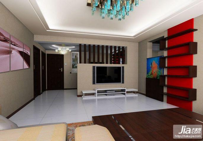电视背景墙效果图2011装修图片