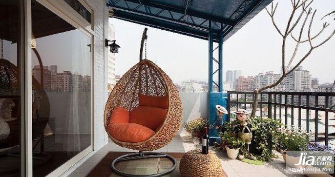 户外阳台装修效果图