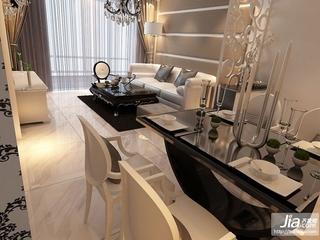 金地·铂悦二居室92平米A户型装修图片