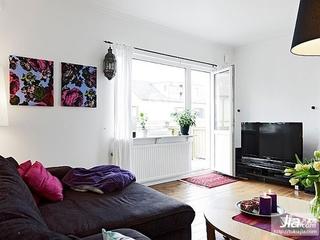 白领最爱的90平单身公寓装修效果图大全2012图片装修效果图