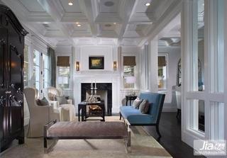 欧式高雅的复式楼客厅装修效果图大全2012图片装修效果图