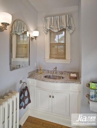 50平米小户型田园风格素雅的卧室装修效果图大全2012装修图片