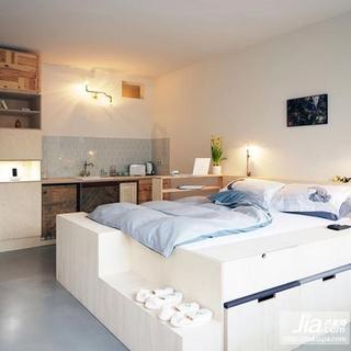 80平小户型时尚创意现代厨房装修效果图大全2012图片装修图片