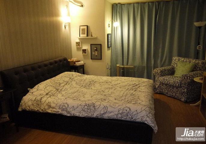 98平小清新家居装修效果图
