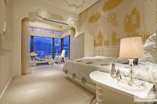 现代时尚简约卧室装修装修效果图