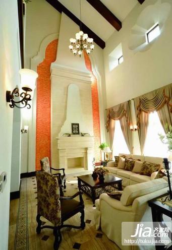 100平方二室二厅客厅装修效果图大全2012图片装修图片