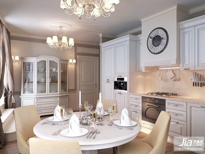 四居室欧式浪漫的客厅装修效果图大全2012图片装修图片