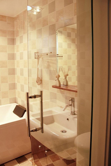 简约风格三居室浪漫130平米卫生间设计