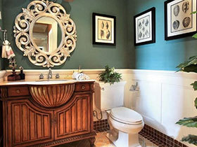 个性美式风 19张特色洗手台设计图