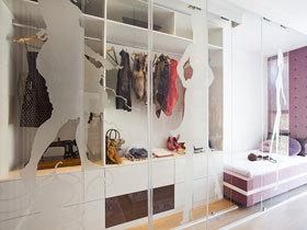 一目了然 17款玻璃门衣柜图片