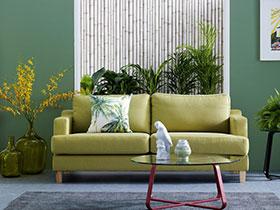 清新田园风 19张彩色沙发背景墙设计图