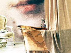创意点亮卫生间 13款个性浴缸效果图
