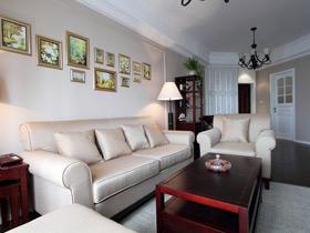 温馨休闲美式两居室 规整的空间设计