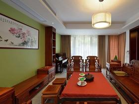 32萬打造現代中式別墅 豪華精致300平大宅