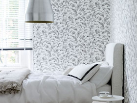 打造轻松卧室 17款灰色卧室背景墙图片
