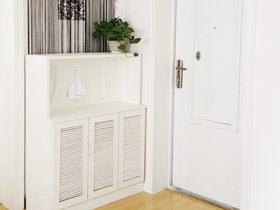 给空间留点私密 16款白色玄关柜图片