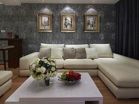 时尚后现代风情三居室 喜欢可以借鉴