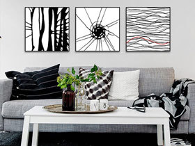 让家活起来 17款简约装饰画设计
