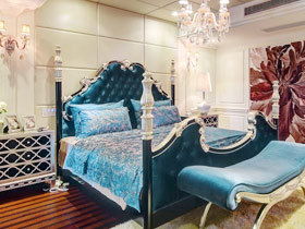 华丽欧式风情 16款欧式床头软包图