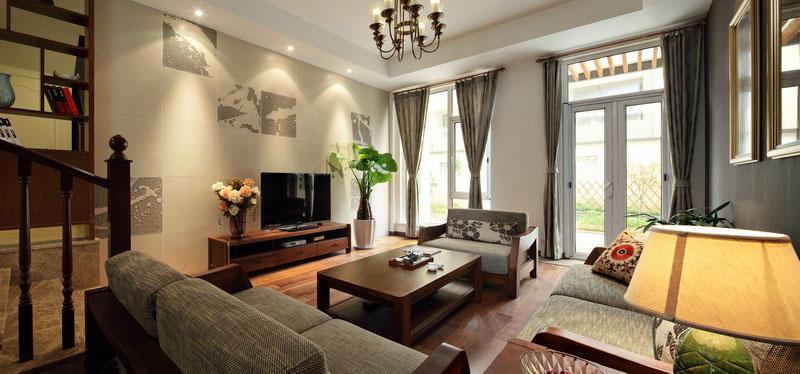 中式风格别墅奢华装修效果图