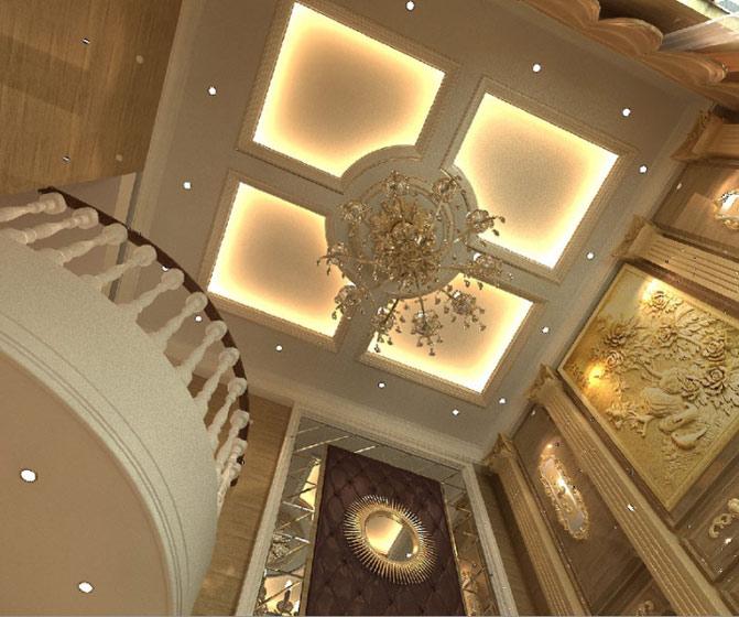 16款欧式豪华吊顶设计图片