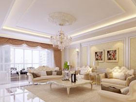 奢华欧式水晶灯设计 打造华丽空间