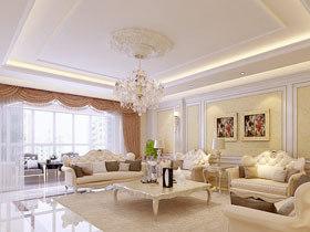 华丽水晶吊灯 16款欧式豪华吊顶设计