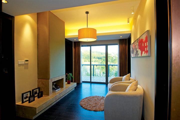 新中式风格别墅奢华装修图片