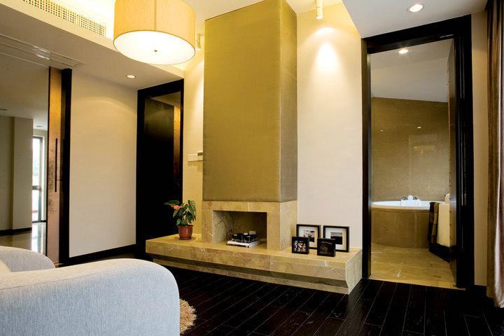 新中式风格别墅奢华装修效果图