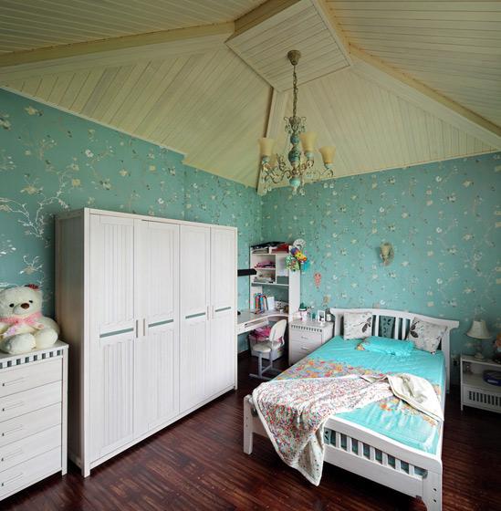 美式风格别墅奢华卧室装修效果图