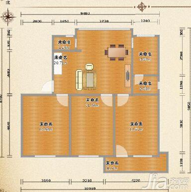 装修大学 >>急求窄客厅装修设计方案   时间关系,随便画了下,主要是对