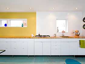 一字型櫥柜設計圖 16款宜家廚房欣賞