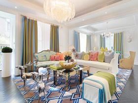 创意欧式吊顶效果图 让家充满奢华感