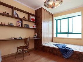 有效利用空间 16款书房地台图片