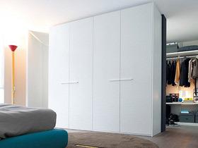清新自然的美 16款白色衣柜设计