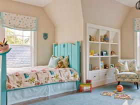 幸福美丽的童年 16款清新儿童床设计