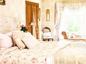 22款小清新壁纸 营造温馨卧室空间