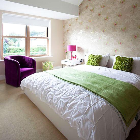 欧式风格卧室壁纸图片_齐家网装修效果图图片