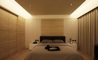 简约风格舒适卧室吊顶吊顶装修效果图
