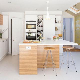 简欧风格简洁厨房效果图