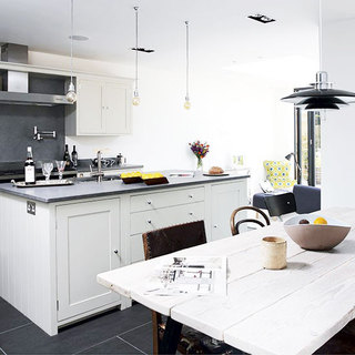 简欧风格简洁厨房装修效果图