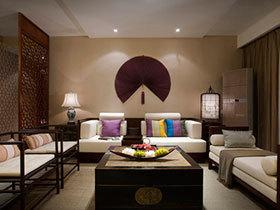 17张个性沙发背景墙图片 不一样的中式风