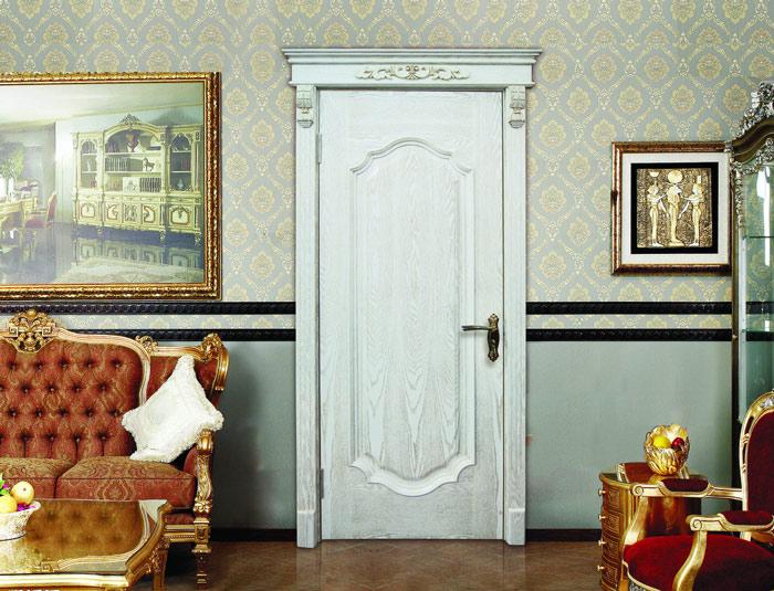 欧式风格白色木门效果图