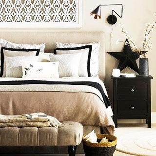 简欧风格实用卧室壁灯效果图