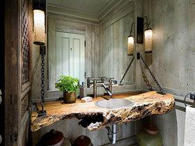洗手也要个性 21张特色洗手台设计图
